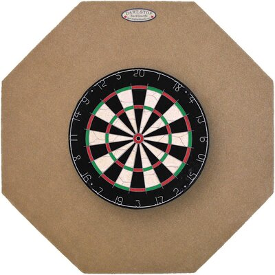Dart-Stop Original 36&quot; Octagonal Backboard in Tan