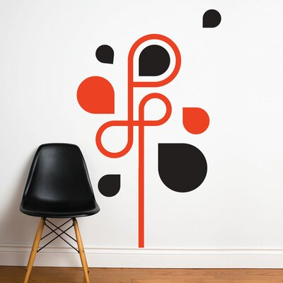 ADZif Spot Water Arabesque Wall Stickers