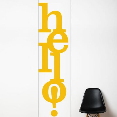 ADZif Unik Hello Wall Decal