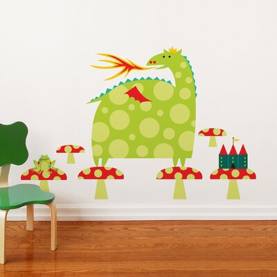 ADZif Piccolo Country Dragon Wall Decal