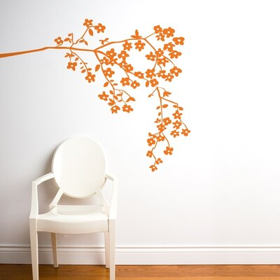 ADZif Spot Coastline Blossoms Wall Decal