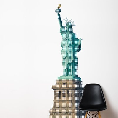 ADZif XXL Lady Liberty Wall Sticker