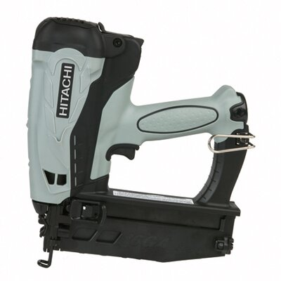 "Hitachi 2.5"" Gas Powered 16-Gauge Straight Finish Nailer"