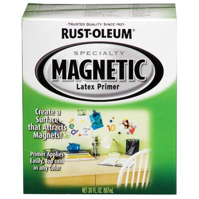 Rust-OleumSpecialty 1 Quart Magnetic Latex Primer 247596