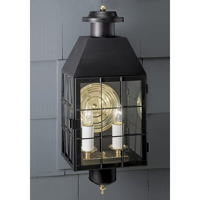 Norwell Lighting American Heritage 2 Light Outdoor Wall Lantern