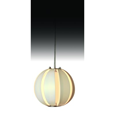 Trend Lighting Corp. Pique 1 Light Single Globe Pendant