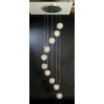 Trend Lighting Corp. Celestial 10 Light Pendant