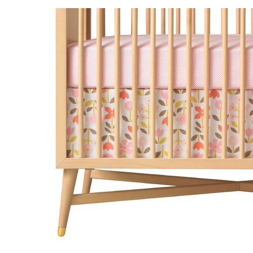 DwellStudio Rosette Blossom Crib Skirt