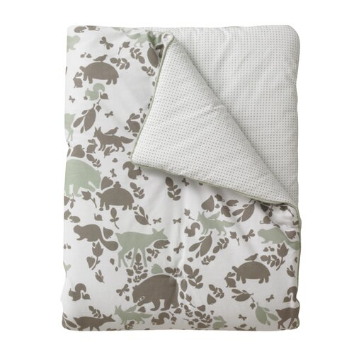 DwellStudio Woodland Tumble Play Blanket in Mocha