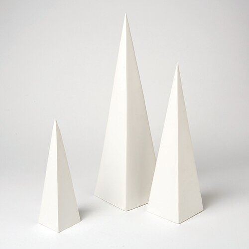 DwellStudio Pyramid Objet (Set of 3)