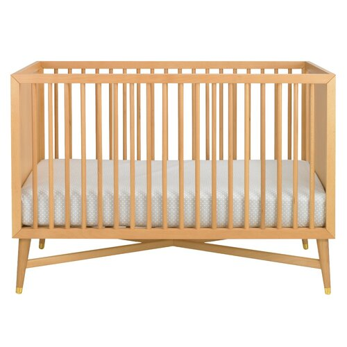 DwellStudio Mid-Century Crib in Natural