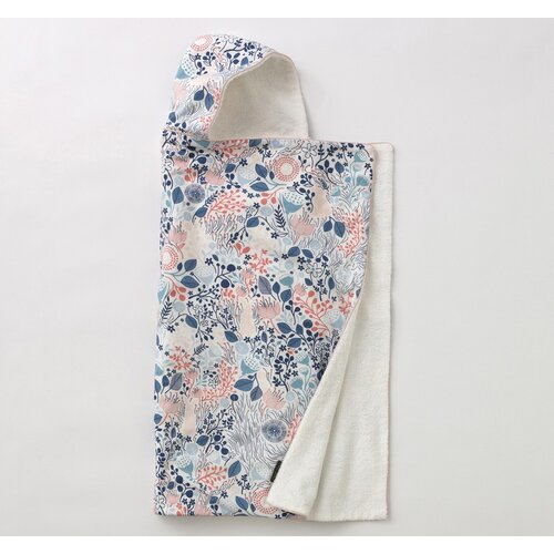 DwellStudio Meadow Powder Blue Hooded Towel