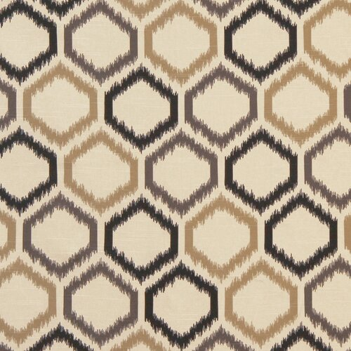 DwellStudio Ikat Trellis Fabric - Toffee