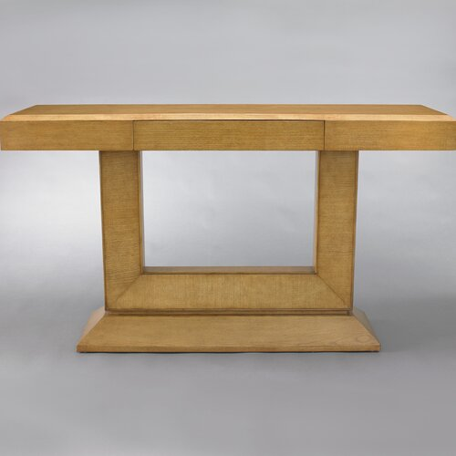 DwellStudio Concorde Console in French Oak