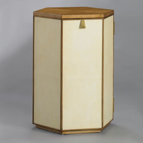 DwellStudio Barnett Side Table in Parchment