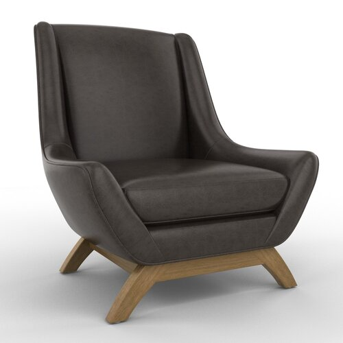 DwellStudio Jensen Leather Chair