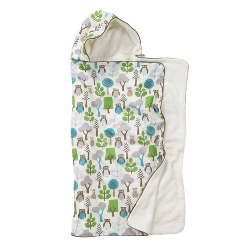 DwellStudio Owls Sky Hooded Towel