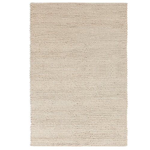 DwellStudio Braided Wool Stone Rug