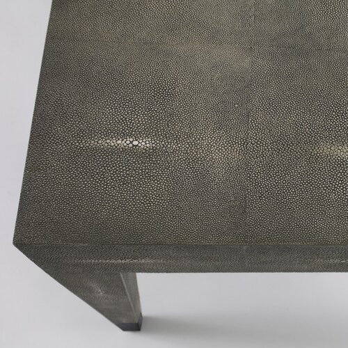 DwellStudio Klein Coffee Table in Grey Shagreen