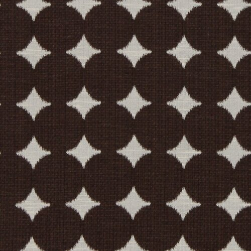 DwellStudio Ikat Dot Fabric - Chocolate