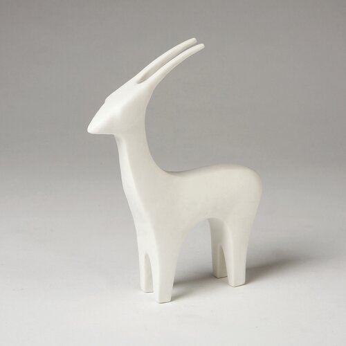 DwellStudio Antelope Objet in White