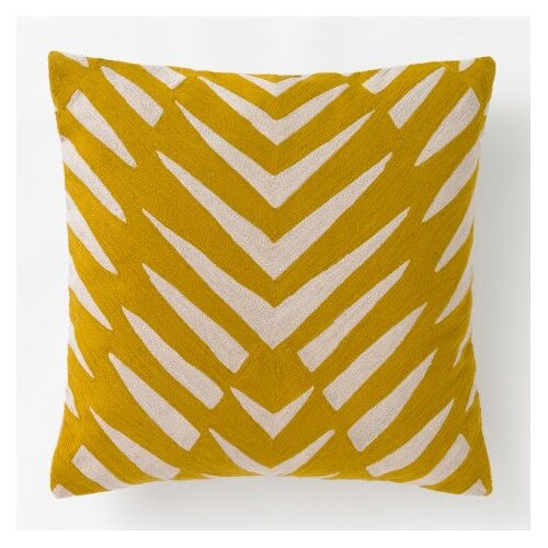 DwellStudio Osa Mustard Pillow