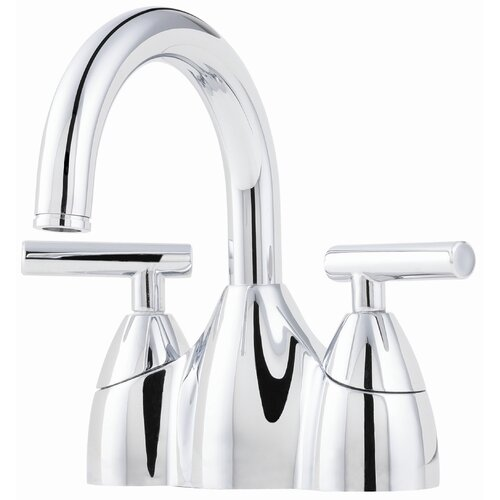 Price Pfister Pasadena Centerset Bathroom Faucet with Double Handles   F 048 PD