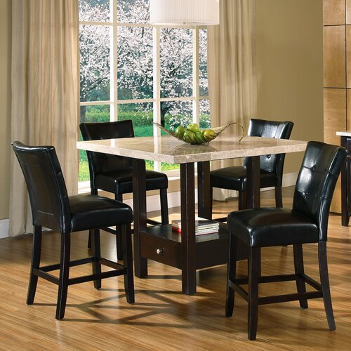 steve silver furniture monarch 9 piece counter height dining