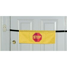 Alarm Door Banner in Yellow