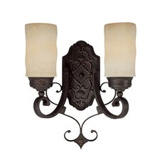 River Crest 2 Light Wall Sconce