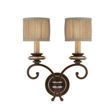 Park Place 2 Light Wall Sconce