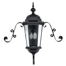 Carriage House 3 Light Outdoor Wall Lantern