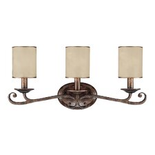 Reserve 3 Light Bath Vanity Light