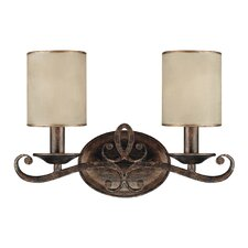 Reserve 2 Light Bath Vanity Light