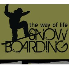 Boarding the Way of Life Wall Decal
