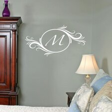 Delightful Elements Initial Wall Decal