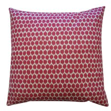 Splotch Satin Cotton Pillow