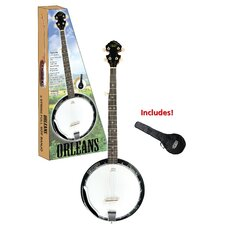 Orleans 5 String Banjo with Gig Bag