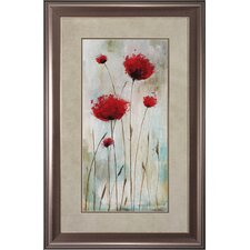Splash Poppies I / II Wall Art (Set of 2)