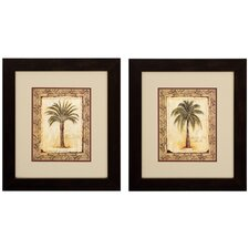 "Majestic and Date Print Set - 16"" x 18"" (Set of 2)"