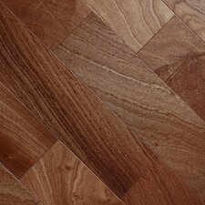"Exotic Smooth 3-1/2"" Engineered Sapelli Mahogany"