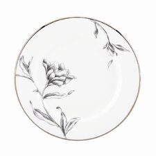 Floral Illustrations Butter Plate