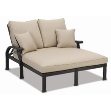 Del Mar Double Chaise Lounge with Cushion