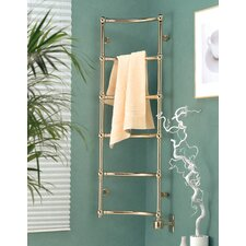 Corner Piece Wall Mount Electric Towel Warmer