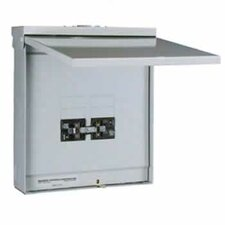 TRB 4/8 Circuit Outdoor Transfer Sub Panel / Link for 60A Generator