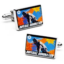 Star Wars Imperial Domination Propaganda Poster Cufflinks