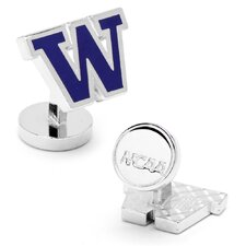 NCAA University of Washington Huskies Cufflinks