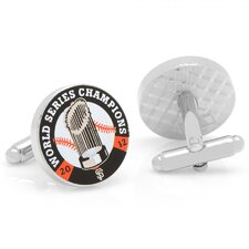 MLB Silver Plated 2012 Commemorative San Francisco Giants Cufflinks