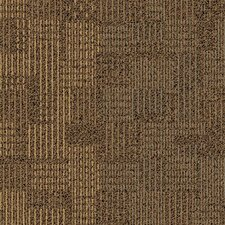 "Boxwood Court Square 19.69"" x 19.69"" Carpet Tile in Form"