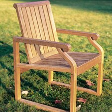 Nantucket Teak Dining Arm Chair